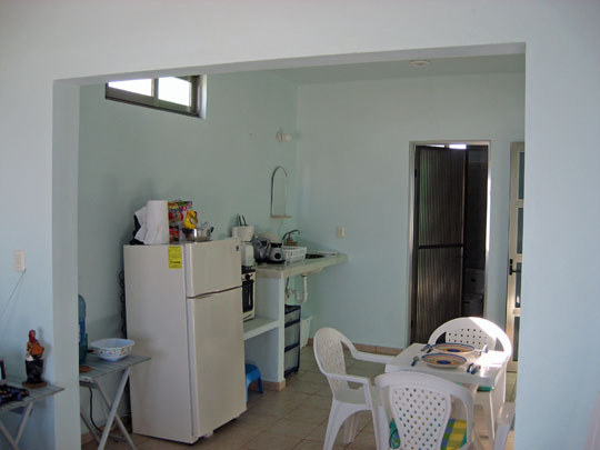 Self catering Studio on Isla Mujeres